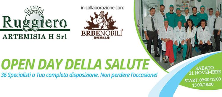 Open Day della Salute alla Clinica Ruggiero